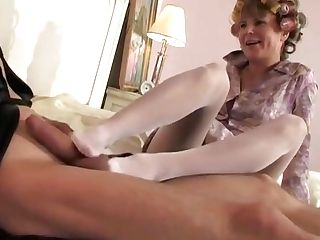 Sexy Russian Nylon Matures 01