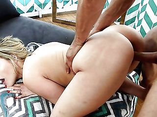 Awesome Huge-titted Sexpot Mia Malkova Gives Footjob And Rails Stud Like Pro