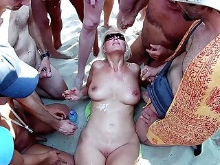 Terminator Beach Mass Ejaculation