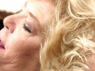 Blonde With Horny Humid Spot Goes Solo
