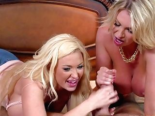 Summer Brielle And And Her Step-mom Leigh Darby Are Hot