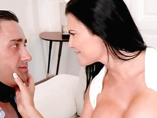 Huge-titted Nude Cougar Harshly Fucked In Ass-fuck Cheating