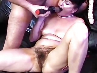 Matures Whore Fake Penis And Hairy Slit By Troc