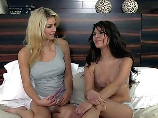 Heather Vandeven Is A Pretty Blonde. Taut Bodied Black-haired Gets