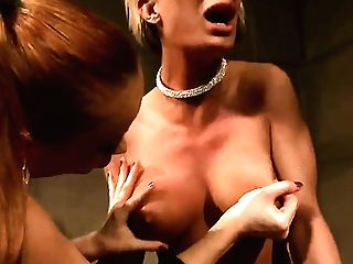 Blonde Katy Parker With Giant Jugs Shows Off Her Hot Assets As She Gets Her Vag Fuckhole Eaten By Girly-girl Pearl Diamond