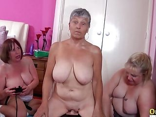 Oldnanny Chesty Brit Matures Lezzy Onanism
