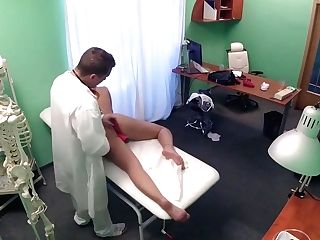 Lusty Mega-slut Gets Her Horny Cunny And Asshole Examined