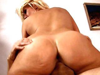 Blonde Wraps Her Lips Around Scott Lyons's Rock Hard Love Wand