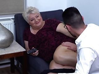 Chubby Granny Still Wants An Occasional Casual Fuck And Mostly Does It With Junior Guys