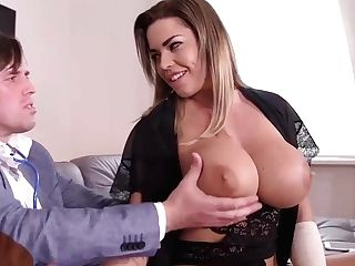 Big Titted Blondie, Chlo Is About To Have Beauty Hump With Tarzan