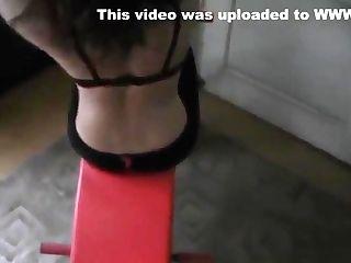 Athletic Mummy Trains Naked