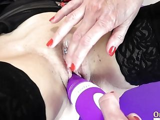 Oldnanny Two Matures And Lovemaking Gear Getting Off