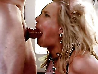Big Bottomed Blonde Mummy Is Ferociously Analfucked By Sexually Aroused John Strong