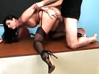Mom In Hard Fuck Porno In Office
