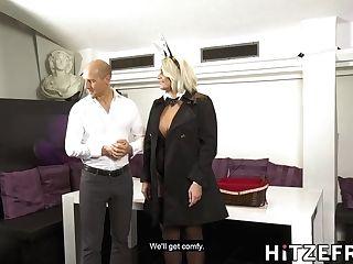 Thick German Blonde Gets Fucked - Tatjana Youthful