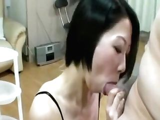 Rei Kusakabe - Sexy Japanese Cougar Railing On Hard Weenie