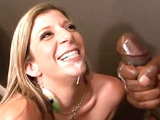 Two Hot Blondes Take On To Massive Black Stiffys