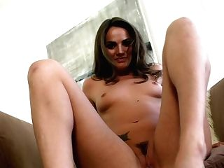 Chocolate-colored Haired Sex Industry Star Tori Black With Little Tits Spreads Her