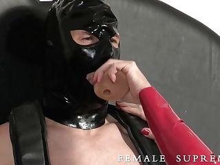 Female Domination Prostate Milking And Female Domination Strap On Dildo
