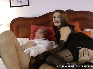 Sassy Youthfull Chick Dominica Is Finger Fucked By Lustful Old Bitch Lara