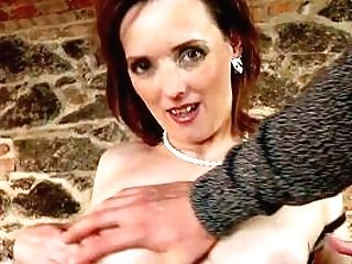 Matures Wants The Youthful Boy's Hammer To Drill Her Right