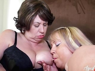 Agedlove Big-titted Mommies Loving Hard Group Fucking Love Making