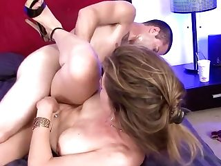 Insatiable Mummy With Big Melons Miss Trixie Gets Fucked By A Youthful Stud